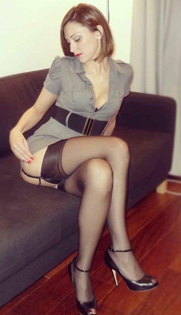 Stockings amateur