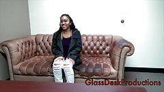 Flea F. reccomend glass desk
