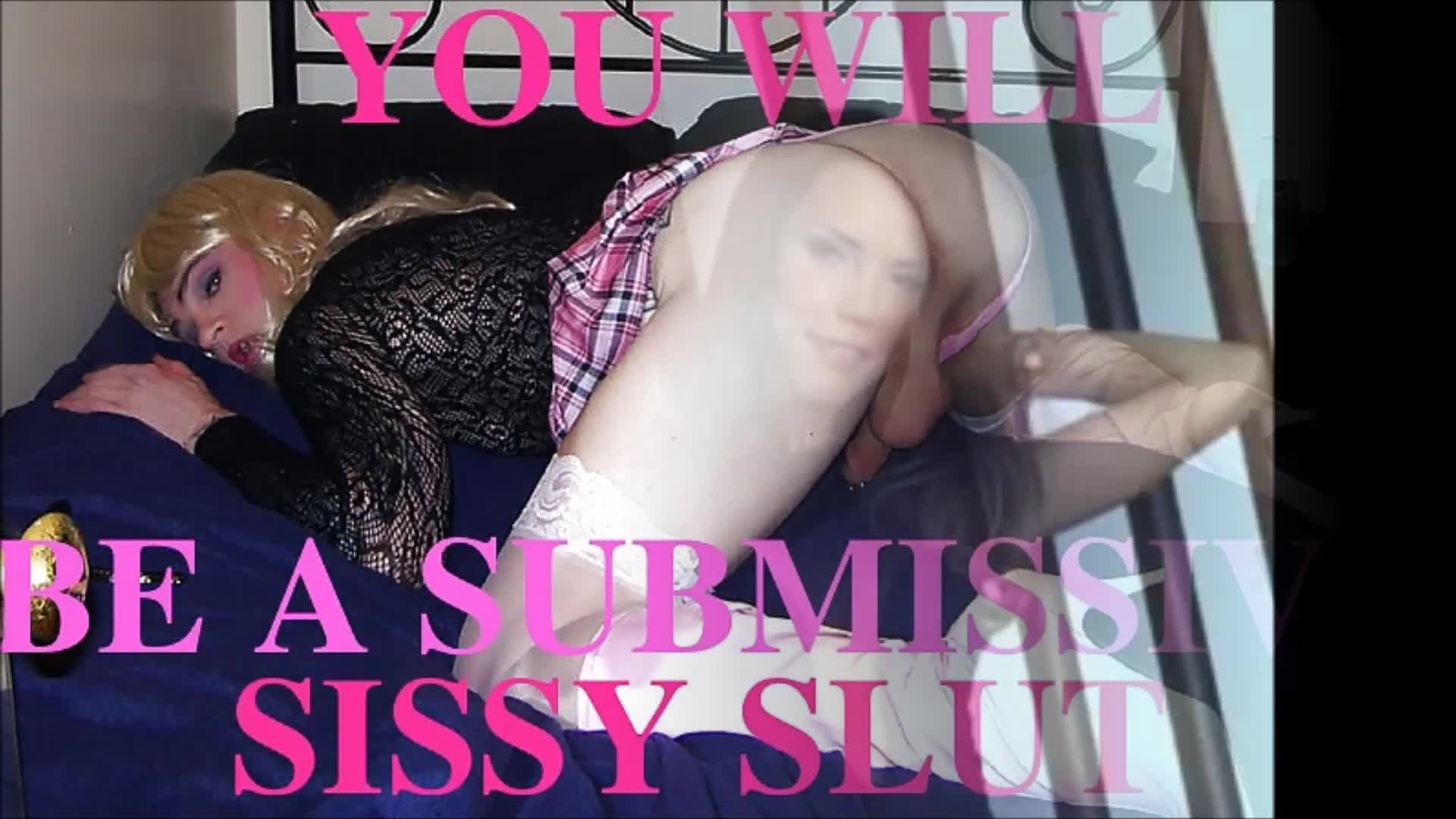 Sissy faggot hypno training