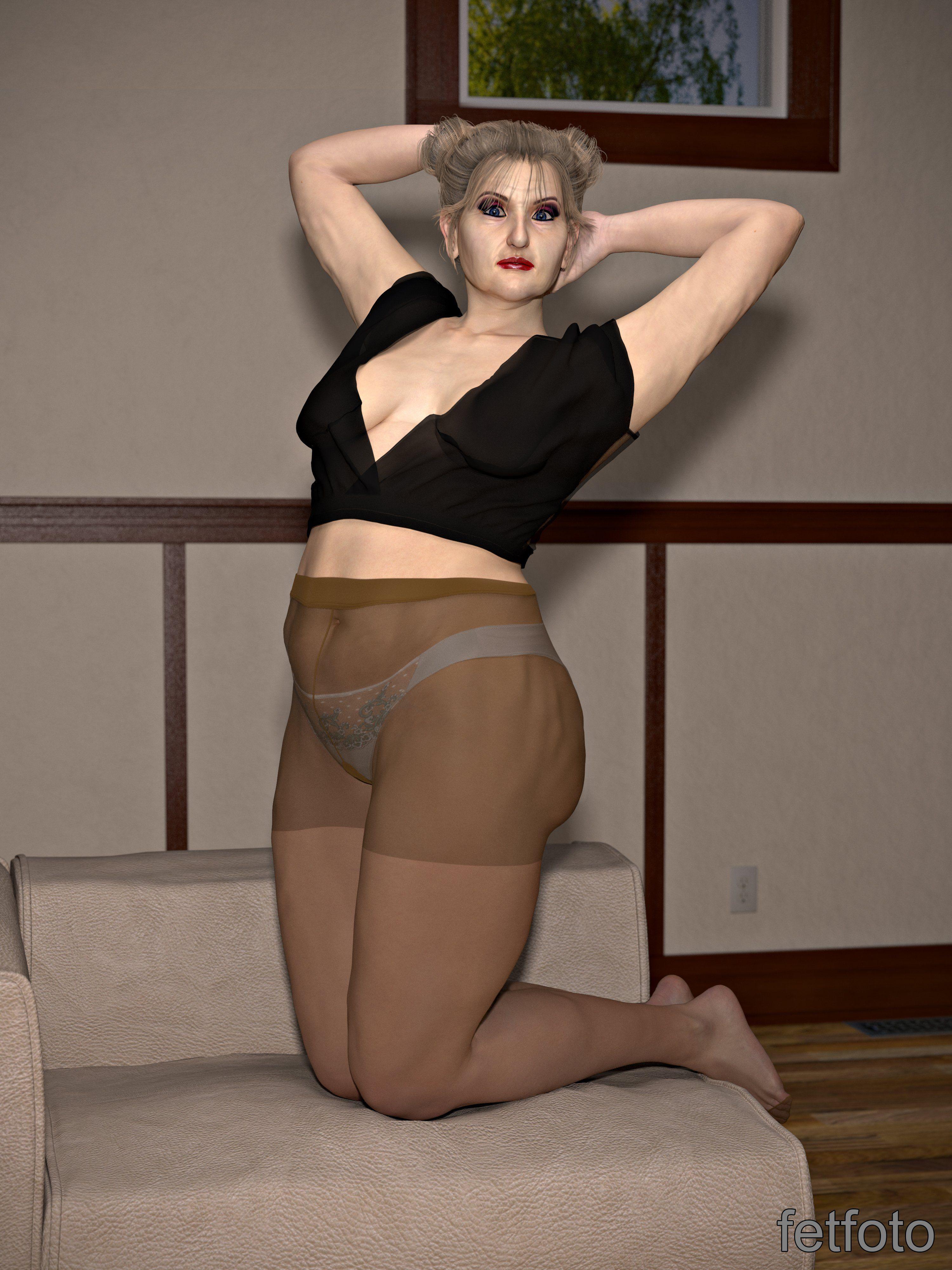 Pics mature pantyhose Celebrity Legs