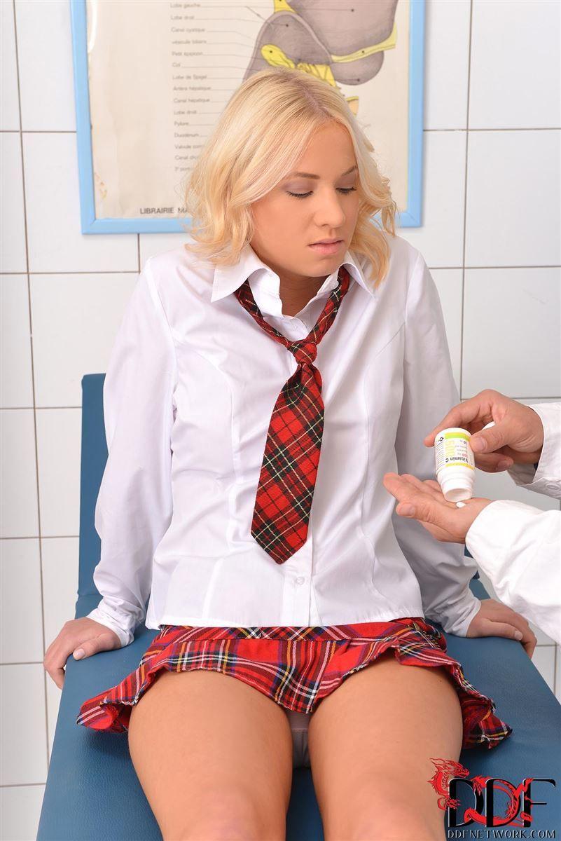 Tied Schoolgirl