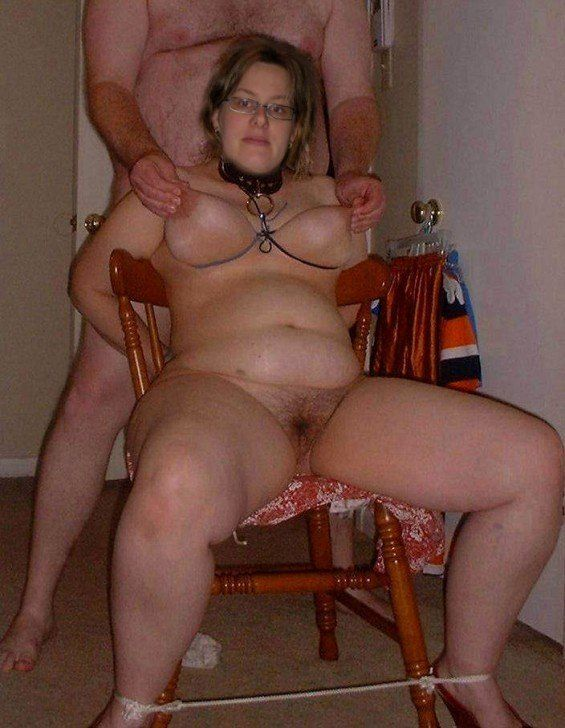 fat old guy BDSM with a girl.