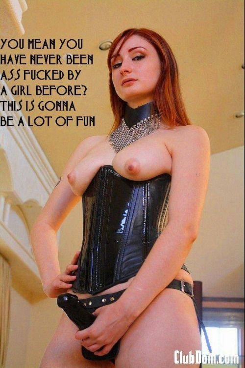 Grand S. reccomend Busty femdom strapon gals mistress domination babe pic