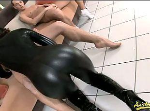 Porno free latex Big Boobs