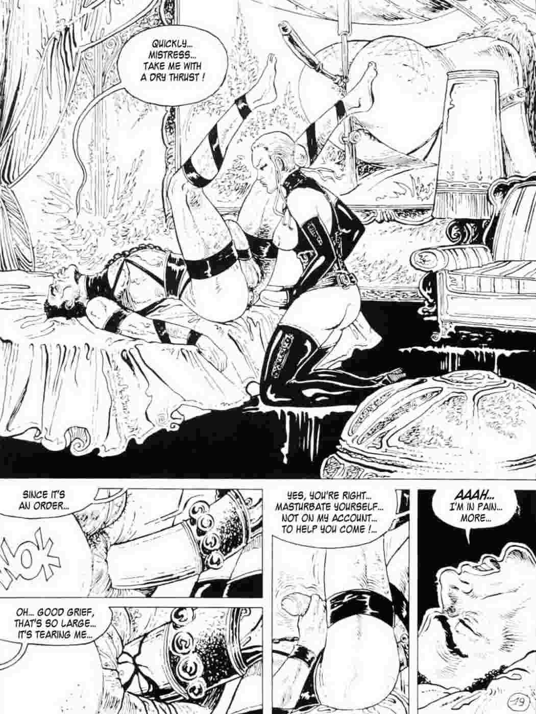 Comic strapon Strapon cartoon