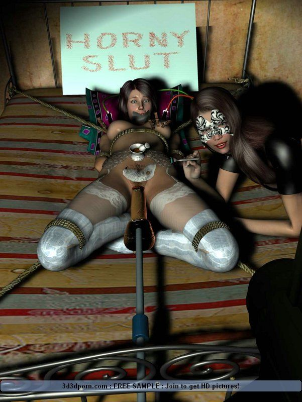 Lesbian bondage humiliation